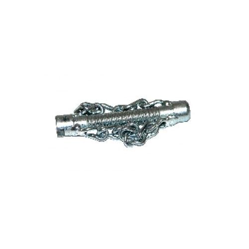 Tête coupe chaîne 22 mm avec 2 chaînes