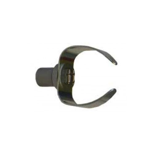 Tête foreur à 4 pans 34 mm pour flexible 10 mm