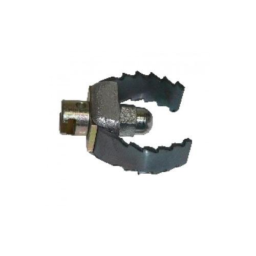 Tête couteau 65 mm pour flexible 22 mm