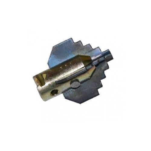 Tête foreur à 4 pans 35 mm pour flexible 16 mm