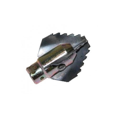 Tête foreur à 4 pans 65 mm pour flexible 22 mm